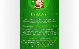 Cartão de Natal 2012
